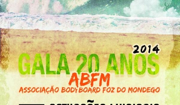 Associação de Bodyboard Foz Mondego celebra 20 anos com uma Gala no Centro de Artes e Espectáculos da Figueira da Foz