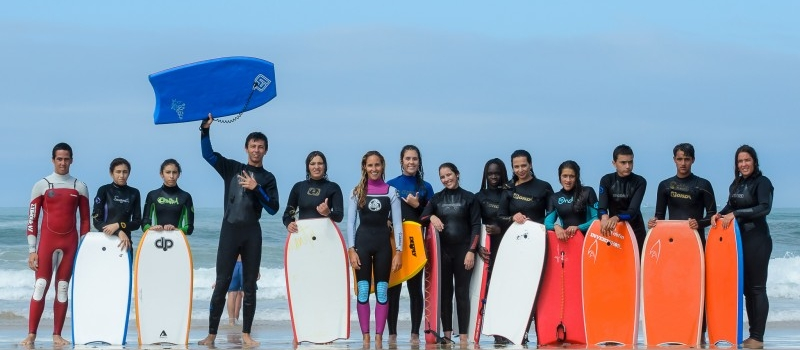 Dia Mundial da Juventude foi comemorado na Escola de Bodyboard
